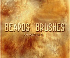 Beards Photoshop Brushes