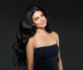 Beautiful brunette beauty model Stock Photo 14