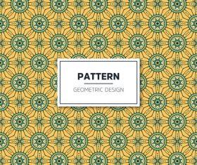 Beige geometric seamless pattern vector 01