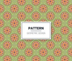 Beige geometric seamless pattern vector 04