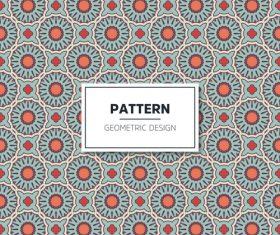 Beige geometric seamless pattern vector 06