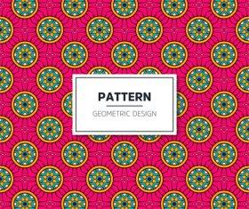 Beige geometric seamless pattern vector 07