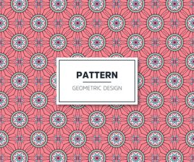 Beige geometric seamless pattern vector 08