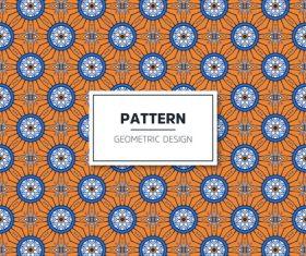 Beige geometric seamless pattern vector 09
