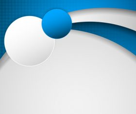 Blue with white paper abstract background vector