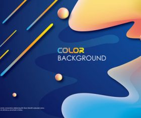 Brilliant colored abstract background vectors 06