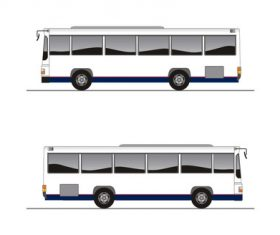 Bus pattern vector