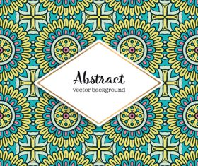Classical styles seamless pattern sbstract vector 02