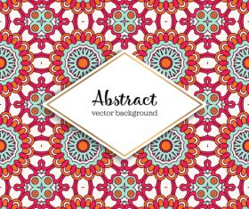 Classical styles seamless pattern sbstract vector 04