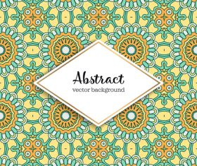 Classical styles seamless pattern sbstract vector 05