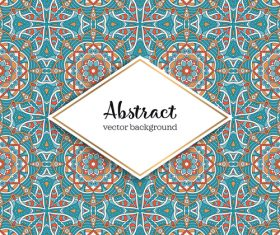 Classical styles seamless pattern sbstract vector 06