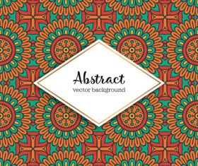 Classical styles seamless pattern sbstract vector 08