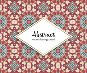 Classical styles seamless pattern sbstract vector 09