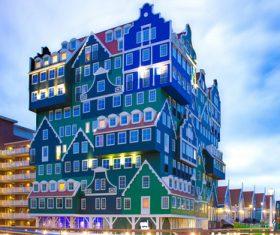 Dutch city landscape Stock Photo 02