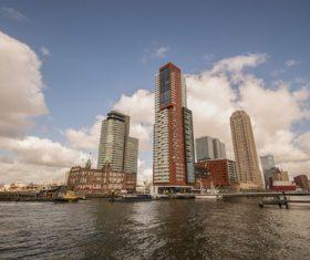 Dutch city landscape Stock Photo 04