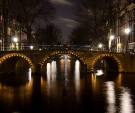 Dutch city landscape Stock Photo 05