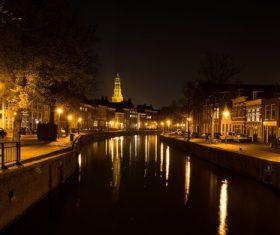 Dutch city landscape Stock Photo 06