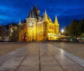 Dutch city landscape Stock Photo 08