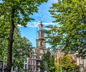 Dutch city landscape Stock Photo 09