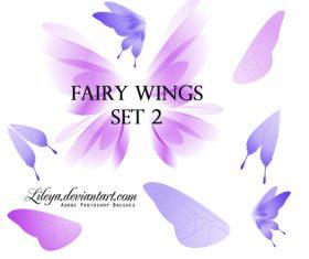 Fairy Wings Photoshop Brushes