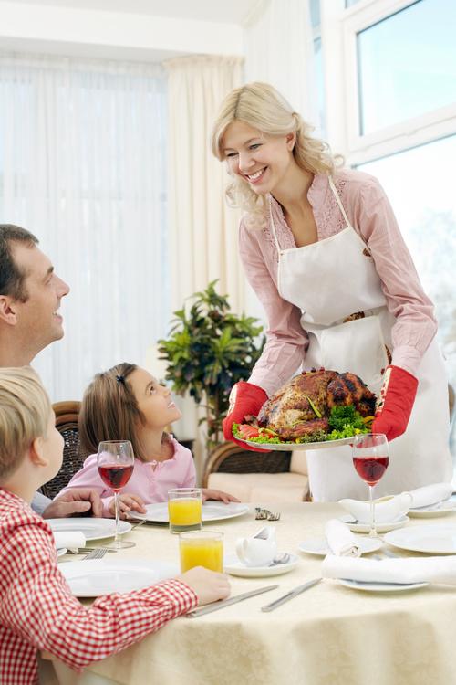 Festive tasty turkey Stock Photo 04
