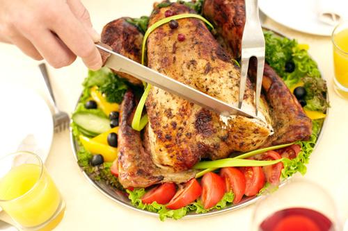 Festive tasty turkey Stock Photo 06