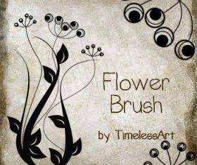 Flower Elegant Photoshop Brushes