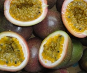 Fruit juice king passion fruit Stock Photo 06