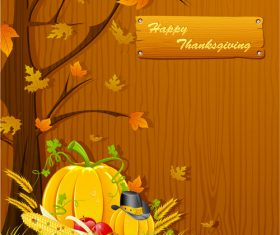 Happy thanksgiving festvial background vector