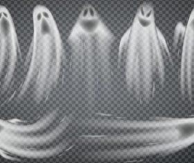 Helloween ghost design illustration vector 01