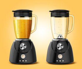 Juice blender vector illustration