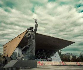Landmark building in Krasnodar Russia Stock Photo 01