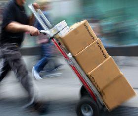 Logistics mail Stock Photo 02