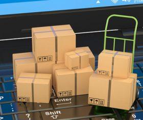 Logistics mail Stock Photo 05