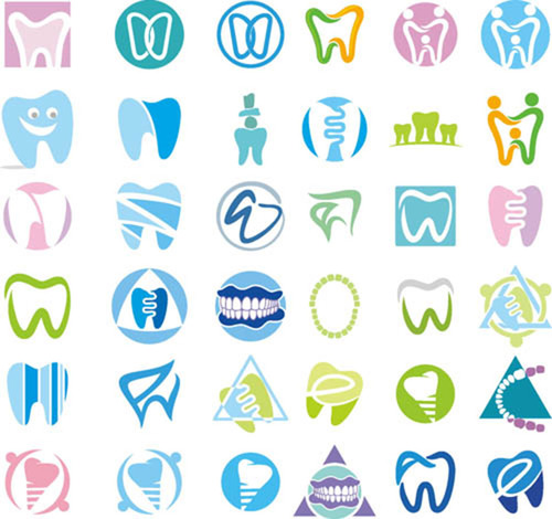 Love teeth vector