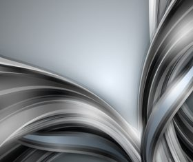 Metallic luster abstract background vector