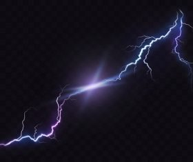 Night sky lightning background vectors 01