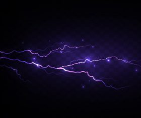 Night sky lightning background vectors 09