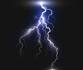 Night sky lightning background vectors 10