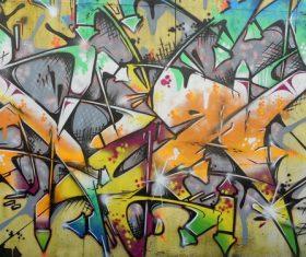 Personality graffiti on the wall Stock Photo 01