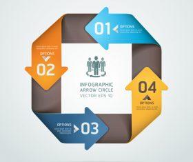 Personality statistics chart design vector material 02
