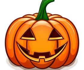 Pumpkin funny illustration vector design