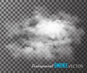 Realistic clouds illustration vectors set 09