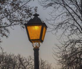 Retro street light Stock Photo 02