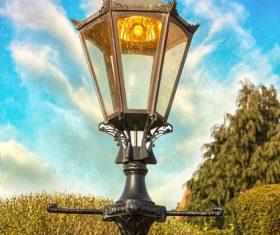 Retro street light Stock Photo 03
