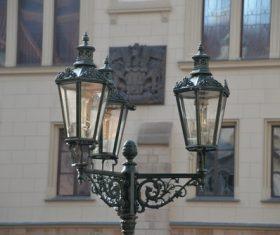 Retro street light Stock Photo 05