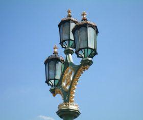 Retro street light Stock Photo 07