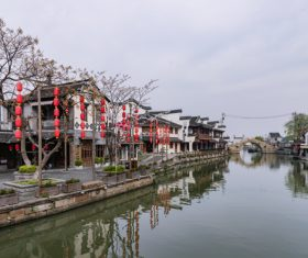Scenery of Xitang Ancient Town Jiashan Zhejiang China Stock Photo 06