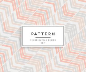 Seamless pattern scandinavian design vector 01