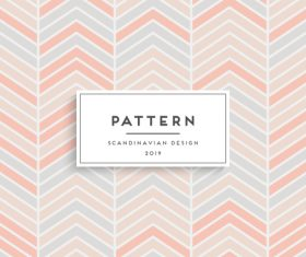 Seamless pattern scandinavian design vector 02